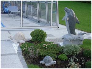 Granit Gartensteine